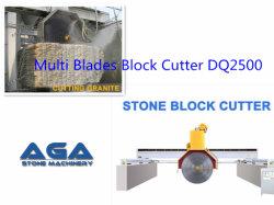 화강암 및 대리석 절단용 멀티블레이드 블록 커터(DQ2200//2500/2800)