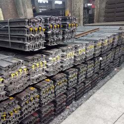 تعدين نفق سكّة حديديّة [12كغ/م] خفيفة فولاذ سكّة حديديّة [ق235] مادّة