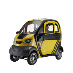 Mini-Smart Car elettrica per adulti cinese con scooter portatile a 4 ruote