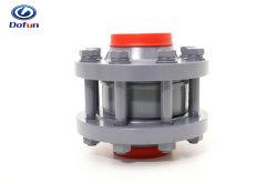 La refrigeración industrial Refrigeración de amoniaco de conexión del sistema de freón ensamblado en el cuello de válvula de retención brida
