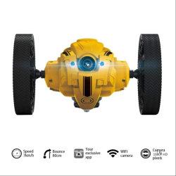 WiFi RC Scheinwerfer-intelligente Schlag-Rennläufer-Weihnachtsgeschenk-Hochgeschwindigkeitsfernsteuerungskamera des Streich-Bremsungs-Spielzeug-video springende Auto-LED