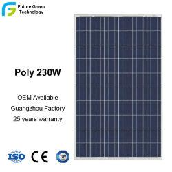 230 Вт, 240 Вт 250W высокой эффективности Polycrystalline полупроводниковых фотоэлектрических модулей панели