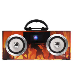 FM バンド内蔵スピーカー機能付き携帯型無線機 Direct New Mobile Phone Bluetooth Speaker (新しい携帯電話の Bluetooth スピーカー)