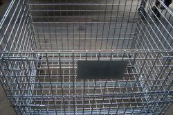 De hete Pallet van de Container van het Netwerk van de Draad van het Metaal van de Verkoop