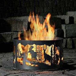 2.5 mmによってカスタマイズされる暖炉の火ピット