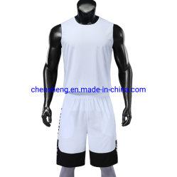 Nuevo diseño personalizado de alimentación de la fábrica Baloncesto transpirable Jersey desgaste para el deporte de formación del equipo