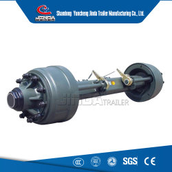 Auto partes separadas 13/14/16ton Serviço Pesado American/Tipo Alemão Peças do reboque/semi-eixo do reboque