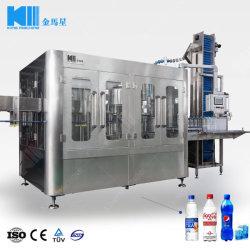Soude gazéifiée aseptique automatique de boissons gazeuses boissons de prix des machines de remplissage de ligne de traitement