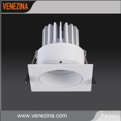6W de bajo consumo 10W COB FOCO LED de luz, luz tenue IP44.