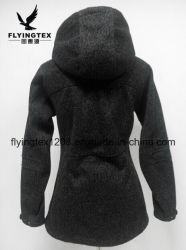 Signora causale Winter Apparel del rivestimento di Softshell delle donne antivento