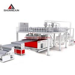 機械生産ラインを作る2.4m Ss PP SpunbondのNonwovenファブリックが付いている1.6m/2.4m SsのビームPP Spunbond Nonwoven機械