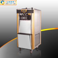 Máquina macia do gelado do saque do sabor do anúncio publicitário 3 para fazer o gelado