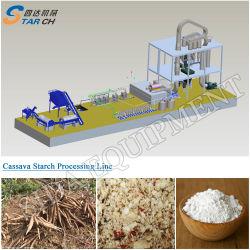 大きい容量のカッサバ澱粉装置