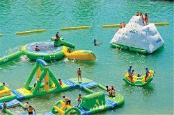 Aufblasbarer schneller Wasser-Park für Verkaufs-/Water-Park Inflatables/aufblasbarer Vorgang Waterpark D3002