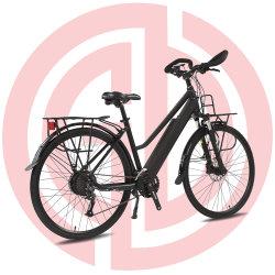 El bastidor de aleación de aluminio de la ciudad de bicicleta eléctrica ayuda del pedal /Bicicleta