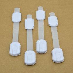 Ferramentas Locks-No Segurança de crianças ou furar -Tamanho ajustável/flexíveis móveis de cola - Travas para armários à prova de bebé