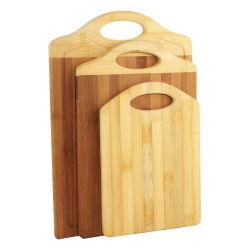 Küche-Bambusausschnitt/hackender Vorstand an den quadratischen u. runden Formen