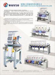 Machine 12-15 van het Borduurwerk van de Printer van de Lage Prijs van de broer Geautomatiseerde Kleuren in Doubai