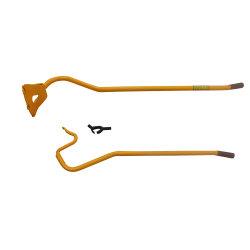 С другой стороны дополнительно погрузчик инструмент для замены колес установить брусья