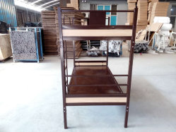 Conseil de métal lits superposés pour les écoles en dortoir du châssis de l'armée de l'hôpital de l'hôtel le mobilier