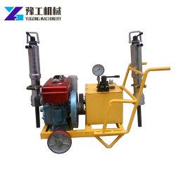 ディーゼルエンジンドリルポータブル油圧ロックスプリッタ電動ブレーカ油圧ショベルメーカー