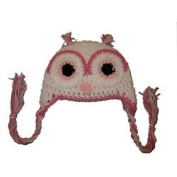 2020 Drôle de bonneterie Crochet Owl chapeaux, les enfants Chapeaux