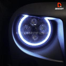 Hohe Qualight 7 '' runde LED Scheinwerfer-Konvertierungs-Installationssatz-Automobil-Lampen