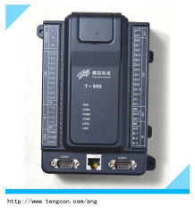 O Modbus Master e Slave PLC T-950 (4AI, 2AO, 14DI, 12FAZER) Controlador Lógico Programável com RS485 e Ethernet