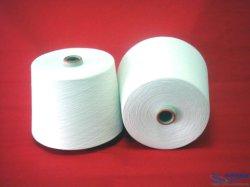 처리되지 않는 백색 고품질 빗질된 폴리에스테 털실