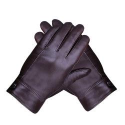 Lederne Handschuh-Form-Kleid-echte Äthiopien-Ziegenfell-lederner Handschuh-Mann-fahrende Handschuhe der Männer