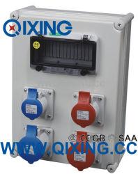 Cee IP67 플라스틱 방수 플러그 및 소켓 상자