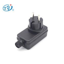 مصدر طاقة LED بقوة 0.25 أمبير بجهد 24 فولت وقدرة 0.5A وقدرة 6 وات مزود بالطاقة من خلال LED تركيب IP44، مقبس الاتحاد الأوروبي CE ERP 2.0 EMC En61347