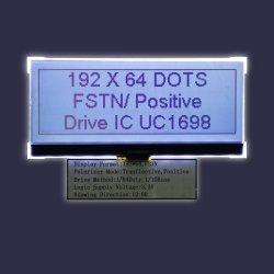 FSTN flüssige Bildschirmanzeige 19264 Punktematrix LCD-Kristallbildschirmanzeige