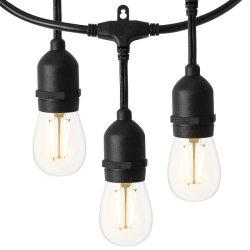 Il partito del festone del LED illumina gli indicatori luminosi della stringa degli indicatori luminosi di natale per la decorazione esterna dell'interno di illuminazione
