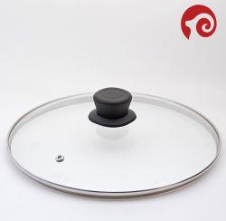 カセロールのふたのステンレス鋼の調理器具の部品のフライパンカバー