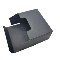 Confezione di carta per la conservazione delle schede con il nome Kraft personalizzato con logo Foil