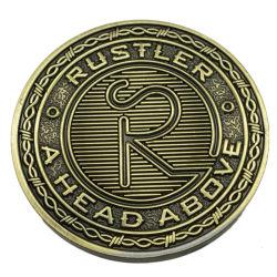 Venta caliente logotipo coche regalo de recuerdo de metal de moneda Caja de recuerdos de la Colección del Banco de recuerdos de metal moneda desafío Bolso manualidades (Moneda-072)
