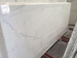 カラーラの白、Statuarioの白い磨かれた大理石