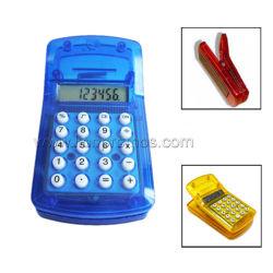 Forme de Clip Portable Mini Mini Cheap cadeau promotionnel Calculatrice 8 chiffres