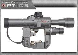 Vista óptica Ak47 apto de Riflescope del francotirador de Dragunov 4X24 Svd Ffp