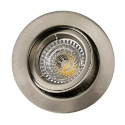 Die Cast Aluminium GU10 MR16 Inclinaison ronde LED encastrée Downlight (LT1300)