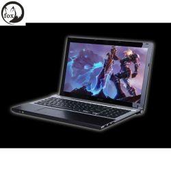 Boîtier métallique prix ordinateur portable 15,6 pouces avec processeur Intel Core i7 double coeur 1,9 Ghz 4 Go de RAM SSD 500 Go avec DVD-RW sur le commerce de gros