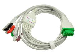 Ge Dash 4000 /5 de 3 fils avec Leadwires Câble ECG