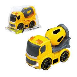 En71 la aprobación de la ingeniería de plástico de fricción de coche de alquiler de juguete con la luz (10211698)