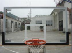 Tutto il piano di sostegno di pallacanestro di alluminio di vetro Tempered del blocco per grafici (GM-L-12)