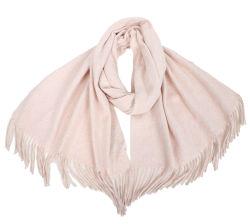 따뜻한 스타일 부드럽고 유연한 패션 멋진 걸스 우븐 쇼울 여성용 세련된 맞춤형 디자이너 플레인 컬러 기본 스카프