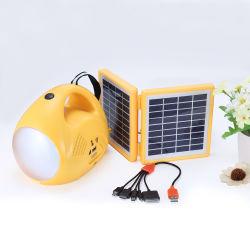SolarLeselampe-Laterne-Licht der ladung-Handtisch-Schreibtisch-Handled mit beweglicher Aufladeeinheit und FM Radio