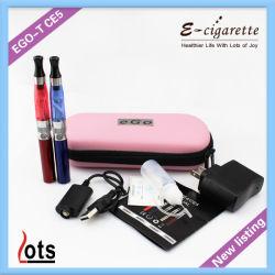 2014 تصميم جديد 510 موصل مؤشر الترابط EGO T البطاريات CE5 طقم سيجارة أقلام مزدوجة مع حقيبة مغرفة أكبر. كل الأكسسوارات في أوكازيون ساخن الأكثر شعبية