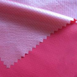 Recubierto de nylon ripstop, tejido de revestimiento, Water-Resistant nacarado