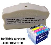 Epson XP-2100 XP-2105 XP-3100 XP-3105 XP-4100 XP-4105 Wf-2810 Wf-2830 Wf-2835 Wf-2850 603XL를 위한 카트리지 칩 Resetter